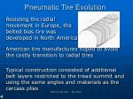 pneumatic tire evolution1