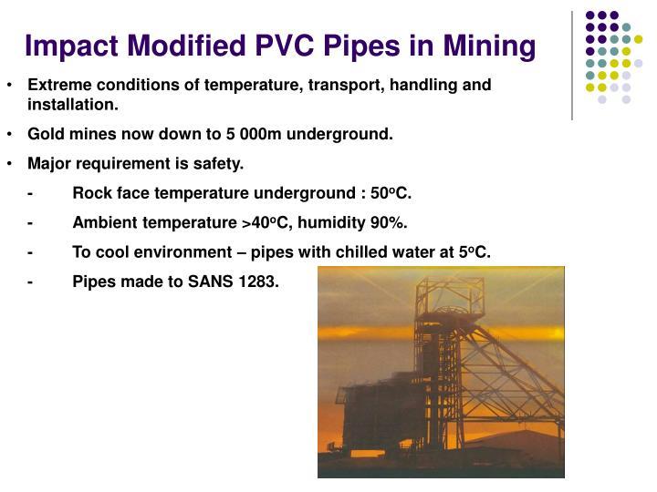 Impact Modified PVC