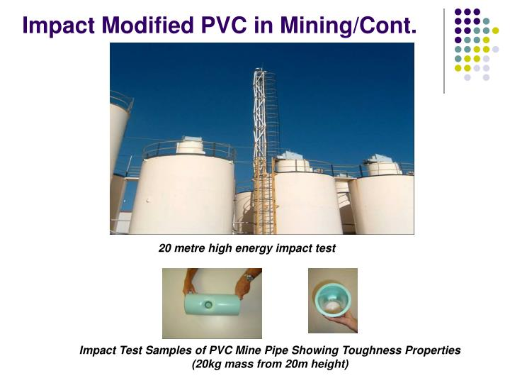 Impact Modified PVC in Mining/Cont.