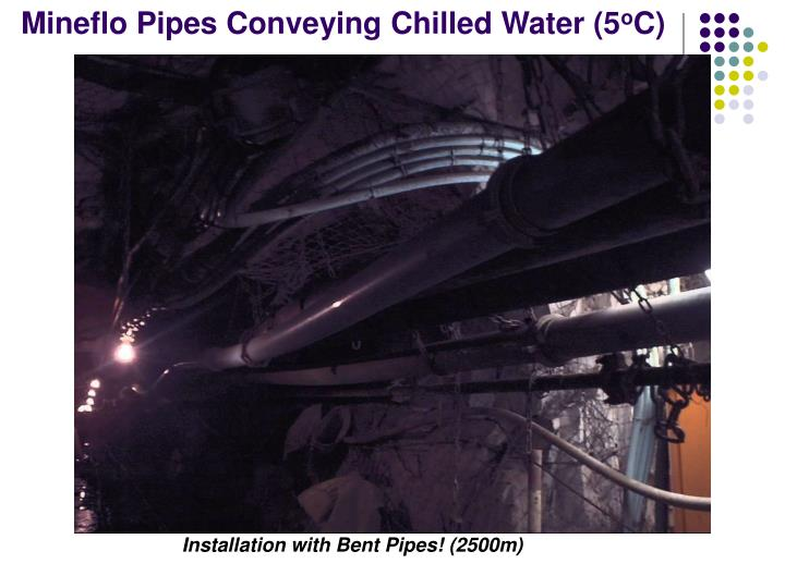 Mineflo Pipes Conveying Chilled Water (5