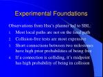 experimental foundations