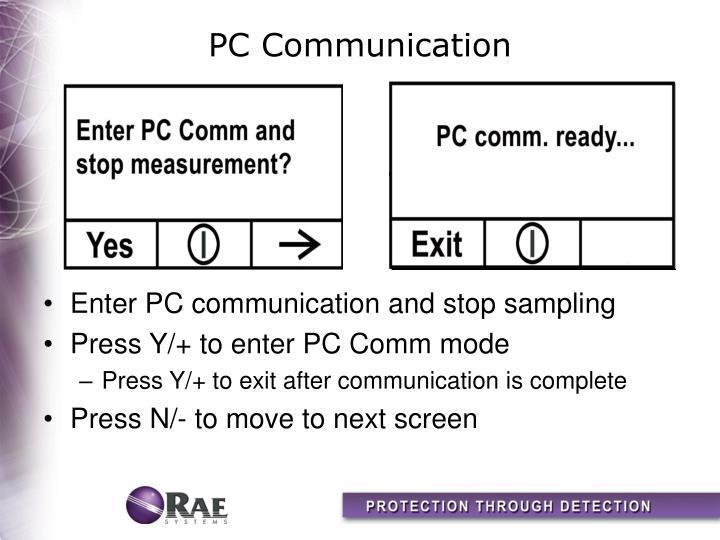 PC Communication
