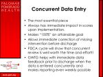concurrent data entry