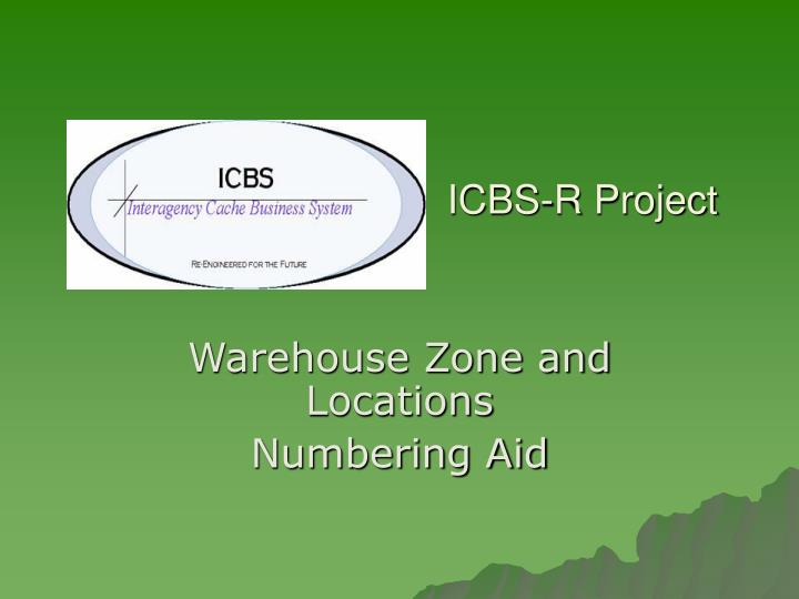 icbs r project n.