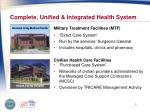 complete unified integrated health system