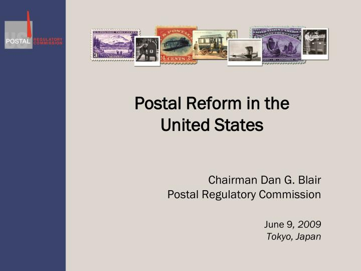postal reform in the united states n.