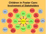 children in foster care involvement of stakeholders