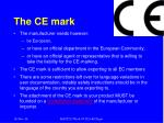 the ce mark2