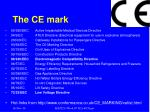 the ce mark3