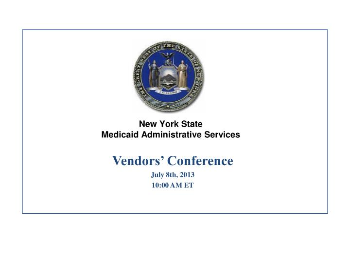 new york state medicaid administrative services n.