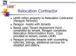relocation contractor