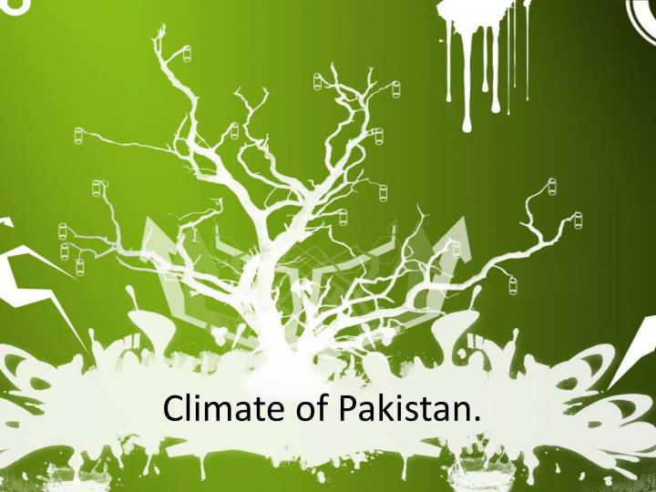 climate of pakistan n.