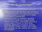 family caregivers1