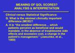 meaning of qol scores analysis interpretation4
