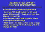meaning of qol scores analysis interpretation5