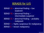 birads for u s1