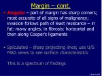 margin cont