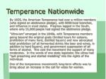 temperance nationwide