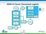 adm v1 focus document logistic