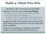 habit 4 think win win1
