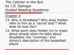 the catcher in the rye by j d salinger guided reading questions3