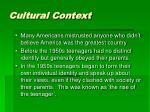 cultural context1