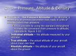ch 3 pressure altitude density17