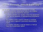 ch 3 pressure altitude density24