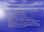 ch 3 pressure altitude density26
