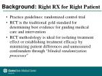 background right rx for right patient