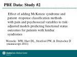 pbe data study 2