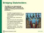 bridging stakeholders