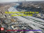 modeling river ice and river ice jams with hec ras