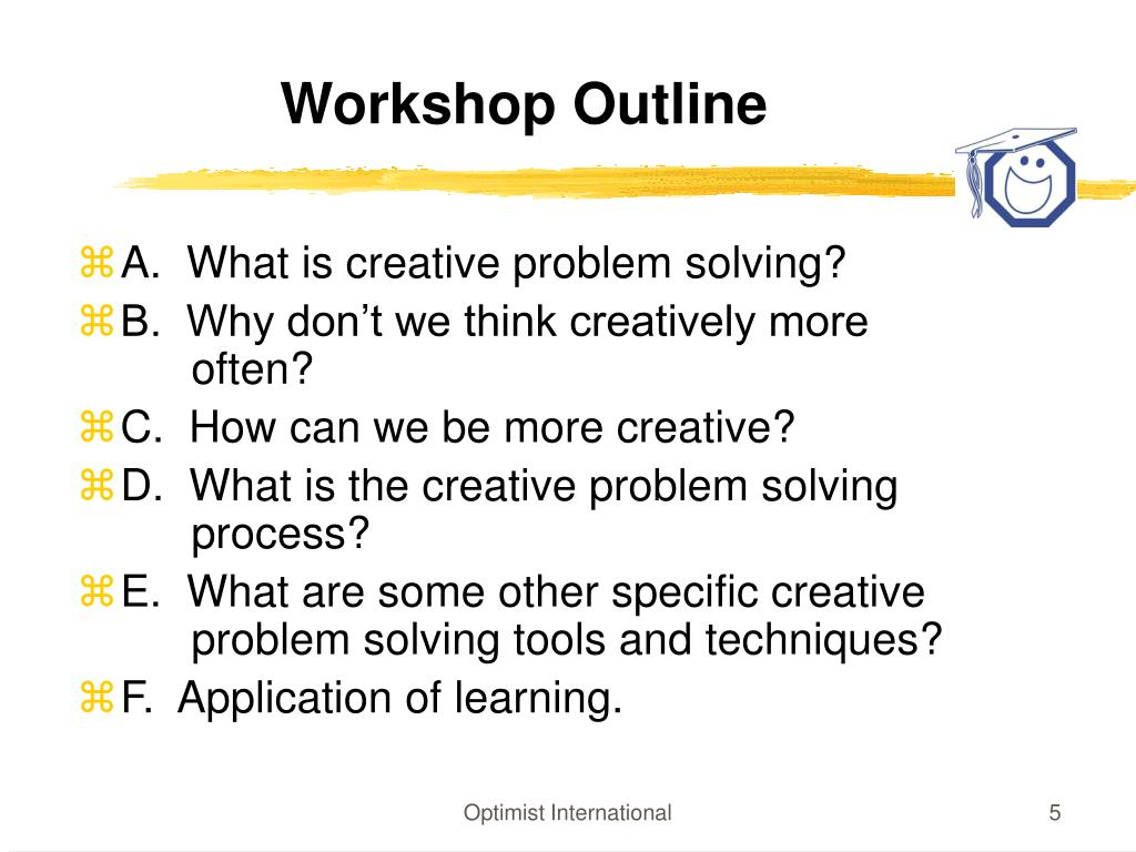 PPT - CREATIVE PROBLEM SOLVING PowerPoint Presentation - ID