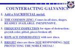 counteracting galvanics
