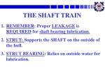 the shaft train2
