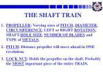 the shaft train3