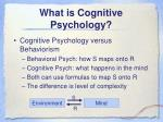 what is cognitive psychology1