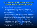 21 5 2 modeling the lt adjustment factor for compound protected permitted phasing
