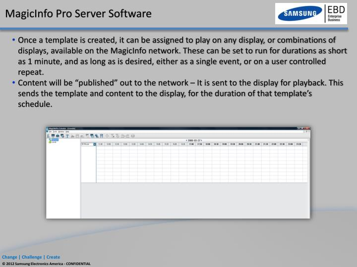 Magicinfo Pro Server Software - xsonaramateur