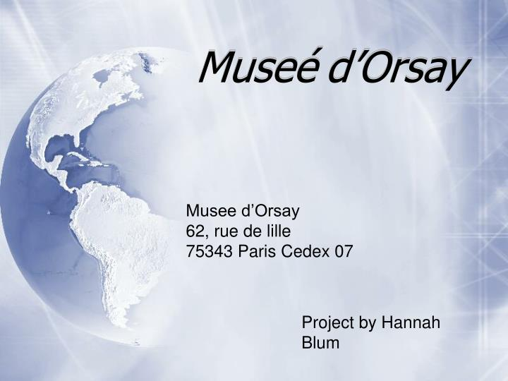 muse d orsay n.