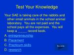 test your knowledge2