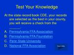 test your knowledge6