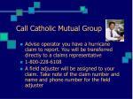 call catholic mutual group
