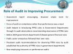 role of audit in improving procurement1