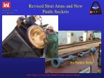 revised strut arms and new pintle sockets