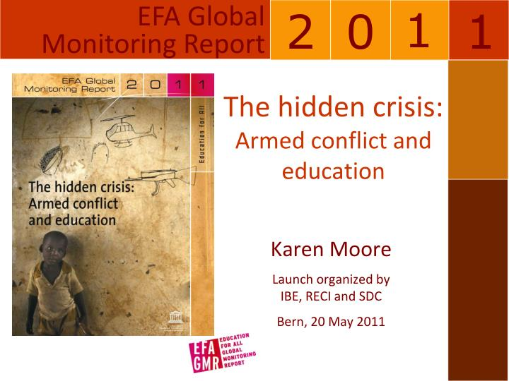 the hidden crisis armed conflict and education n.