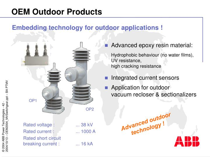 OEM Outdoor Products