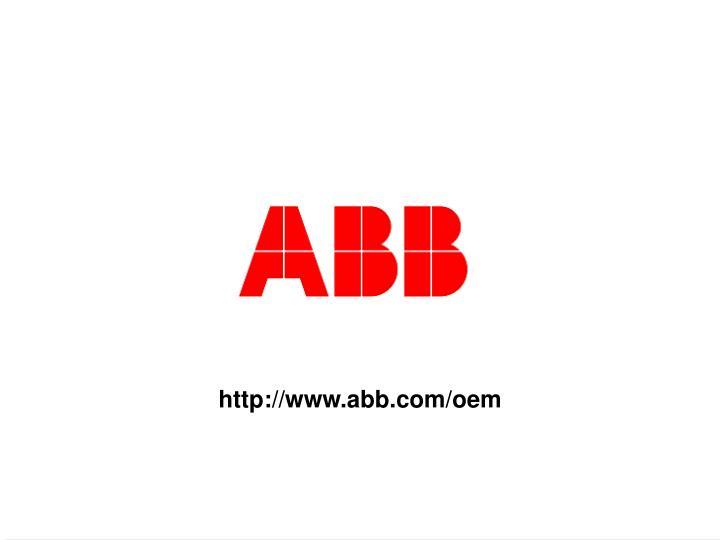 http://www.abb.com/oem