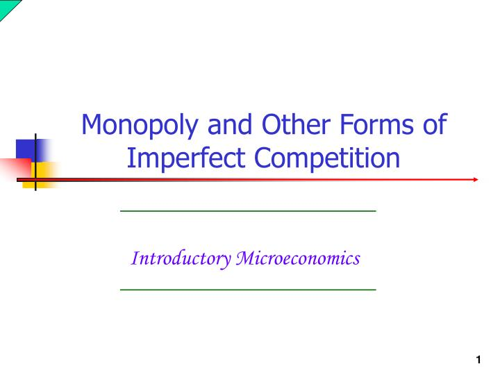 introductory microeconomics n.